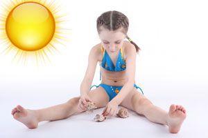 Ilustración de Cómo evitar golpes de calor en los niños