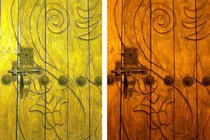 Guía para barnizar puertas, ventanas y sus marcos. Pasos para aplicar barniz en puertas de madera.