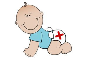Ilustración de Cómo armar un botiquín para el bebé