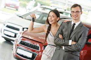 Ilustración de Cómo comprar un auto nuevo