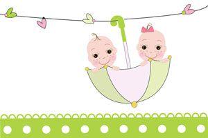 Cómo decorar un baby shower para mellizos