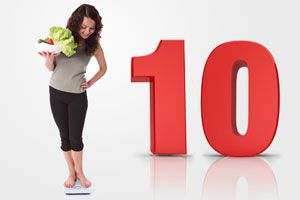 Dieta para bajar 10 kilos en un mes