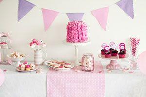 Cómo decorar un baby shower para niña