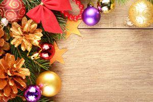 Decoraciones navideñas de bajo costo