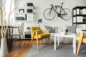 Ilustración de Cómo hacer un soporte para bicicleta