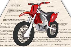 Ilustración de Cómo elegir el seguro de una moto