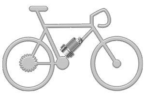 Ilustración de Cómo construir una bicicleta con motor