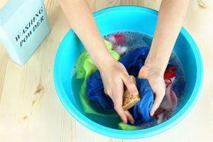 Cómo lavar la ropa a mano
