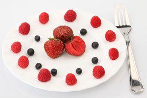 Bocadillos y postres bajo en calorías