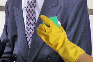 Lavado en seco casero es útil para quitar manchas sobre prendas delicadas
