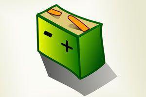 Ilustración de Cómo funciona una batería