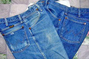 Los pantalones de jean se pueden agrandar si se han encogido por el lavado.