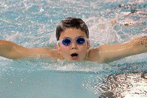 Ilustración de Cómo mantener las gafas de natación