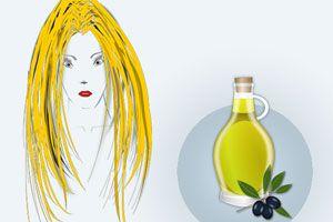 El aceite de oliva es útil para el cabello