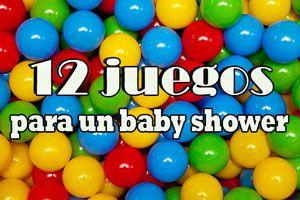 12 juegos para un baby shower