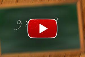 Método para aprender la tabla del 9 - Video