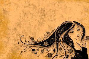 Ilustración de ¿Qué significa soñar con cabello?