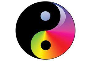 Ilustración de La influencia de los colores según el Feng Shui