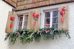 Cómo decorar las ventanas en Navidad