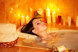 Un baño purificador para año nuevo