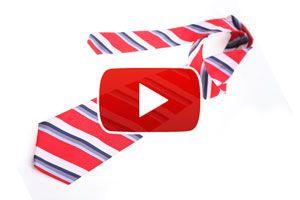 Cómo hacer el nudo de corbata pequeño - Video