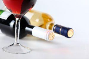 Ilustración de La temperatura ideal para el vino