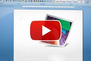 Ilustración de Cómo manipular las imágenes en Word - Video