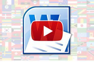 Ilustración de Cómo cambiar el idioma de Word - Video