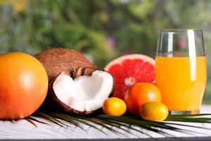 Frutas y verduras para hacer jugos naturales