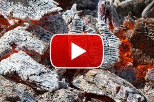 Cómo prender fuego con carbón - Video