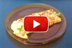 Ilustración de Cómo hacer un omelette