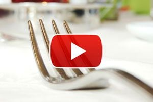 Ilustración de Cómo poner los cubiertos en una mesa formal - Video