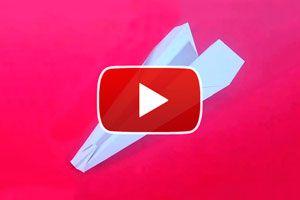Cómo hacer un avión de papel modelo Silvio