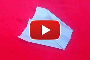 Cómo hacer un avión de papel modelo Elal