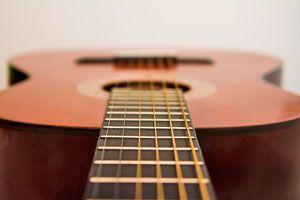 Cómo pintar una guitarra