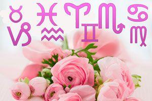 Ilustración de Qué flores regalar según el signo