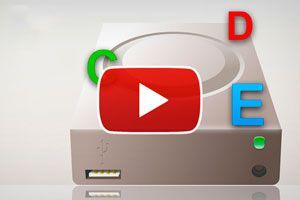 Ilustración de Cómo Cambiar la Letra a una Unidad de Disco - Video