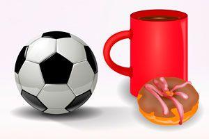 Ilustración de Bocaditos dulces para Ver el Mundial de Fútbol