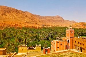 Ilustración de Cómo Planear un Viaje a Marruecos