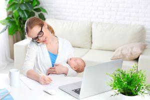Ilustración de Cómo Trabajar, Estudiar y Ser Madre