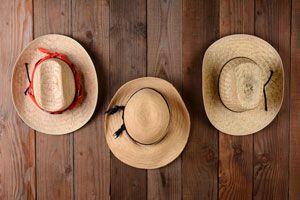 Ilustración de Cómo Decorar una Pared con Sombreros