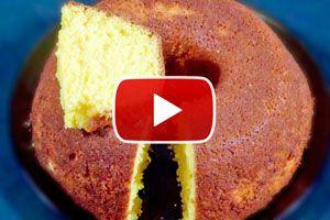 Receta rapida de torta de mandarina. Como hacer una torta de mandarina rápida y facil. Receta para hacer torta de mandarinas en una licuadora