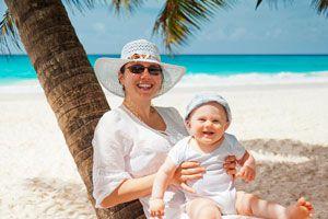 Cómo Ir de Vacaciones con un Bebé