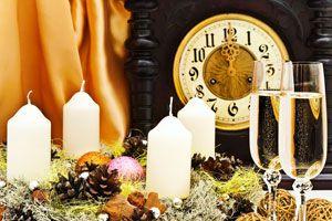 Ilustración de Velas para hacer Rituales de Año Nuevo