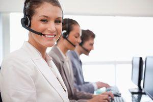 Ilustración de Cómo Trabajar en un Call Center