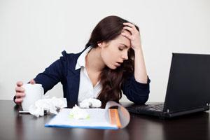 Ilustración de Cómo Evitar Enfermarse en el Trabajo
