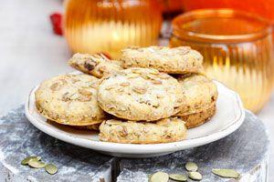 Receta para hacer galletas de calabaza sin gluten. Cómo hacer galletas para celíacos. Preparación de galletas sin TACC apta para celíacos