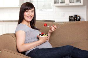 Ilustración de Comidas Peligrosas para Embarazadas