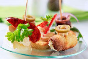 Opciones para preparar una picada. Ideas para preparar comidas para una picada. Cómo hacer una picada con bocaditos saludables