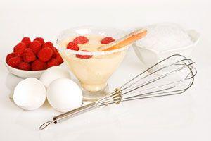 Receta para hacer sambayon sin gluten. Cómo hacer sabayón libre de gluten. Receta de sambayón para celíacos. Postre de sabayon apto celíacos